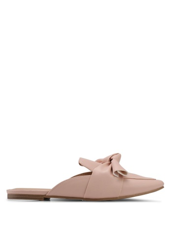 Dorothy Perkins beige Nude Lux Mules Loafers A2F58SH66E50DDGS_1