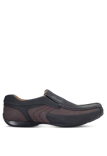 Louis Cuppers black Casual Slip On Shoes LO977SH16VODMY_1