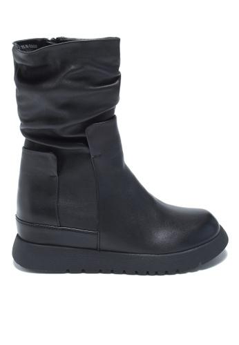 Twenty Eight Shoes Fashionable Mid Calfskin Boots T65603-3D 21FC7SH4FC2DF2GS_1
