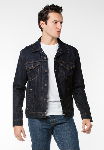 Levi's blue Levi's The Trucker Jacket LE815AA01HMOMY_1