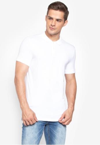 Shop Calvin Klein Jersey Polo Shirt Online on ZALORA Philippines 19524a7d6