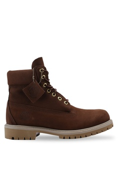reputable site baaa5 d6b27 Timberland brown 6-Inch Premium Boots 368BASHB0840F3GS 1