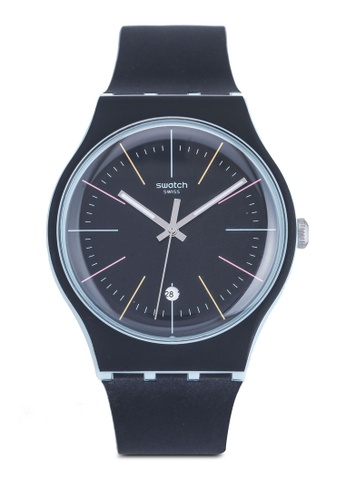 Swatch black Black Layered Watch BB366AC634D52EGS_1