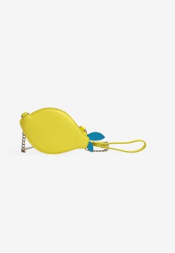 Gingersnaps yellow Girls Lemon Flip Sequin 3- Way Bag 0AF7BKC8629807GS_1
