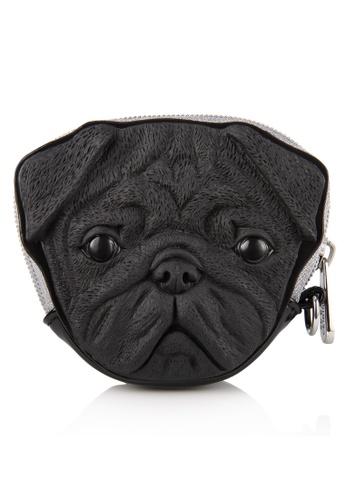 Adamo 3d Bag Original Black Pug Dog Coin Purse Ad449ac33hrehk 1