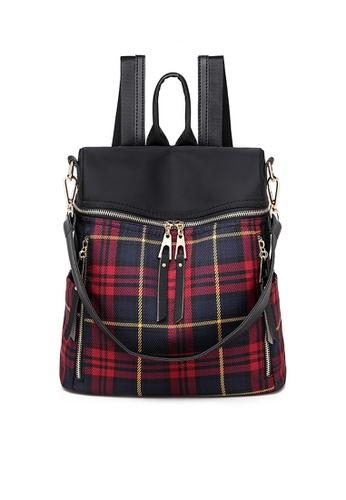 Twenty Eight Shoes red VANSA Multi-functional Nylon Oxford Backpacks VBW-Bp8822 146BCACD07C246GS_1