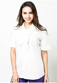 Plus Size Rhun Short Sleeves Blouse