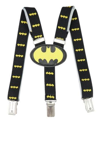LC Waikiki black Baby Boy Batman Patterned Suspenders 81A4EKC9A53BB7GS_1