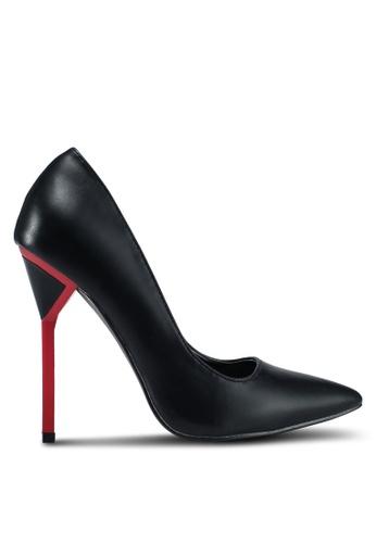Something Borrowed black Pointed Heels 04055SH0E43FE1GS_1