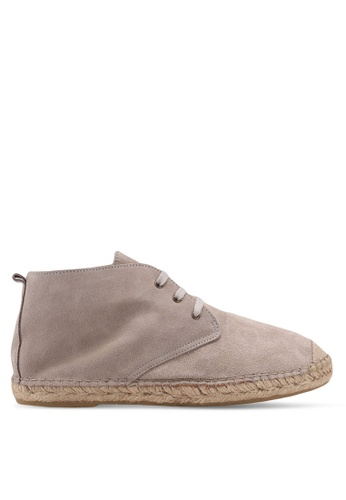 Selected Homme silver Hajo Suede Chukka Boots 8BC6FSH5C4A002GS_1