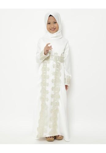 Princessa Flami white Muslim Anak Broken White AG773 62215KABA1B77DGS_1