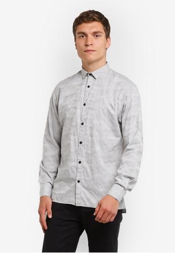 Jack & Jones grey Alfa Shirt JA987AA0RMA9MY_1