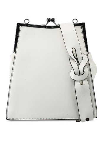 Keddo white Rosabelle Sling Bag 54819ACF61B71FGS_1
