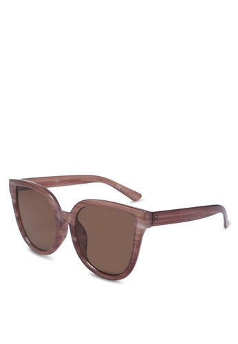 Rubi brown Amelia Cateye Sunglasses 19DFEGLA76AEC2GS_1