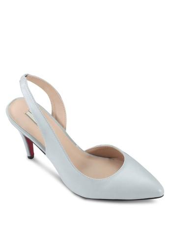 尖頭繞踝高跟鞋esprit童裝門市, 女鞋, 細帶高跟鞋