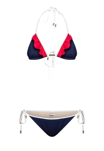 73e33b6685ea9 Shop Naked Sun Swimwear Lila Triangle Top and Bottom Set Online on ZALORA  Philippines