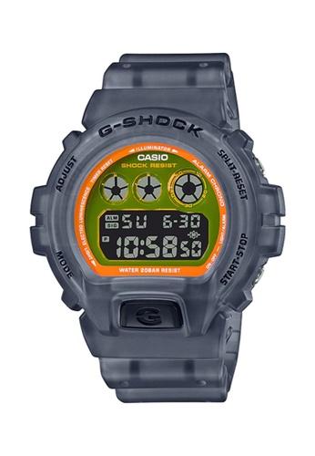 G-shock 灰色 Casio G-SHOCK Men Watch DW-6900LS-1DR 99FBFAC260EC79GS_1