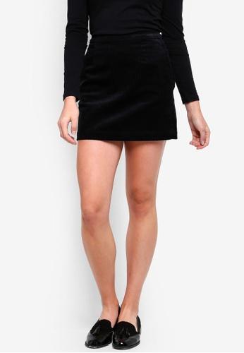 a1b034fbe83 Calvin Klein black Corduroy Mini Skirt - Calvin Klein Jeans  8FA92AA8E37DB0GS 1