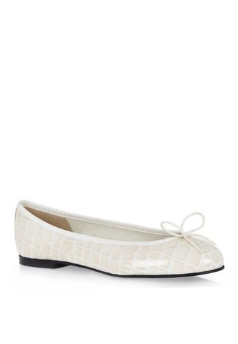 Covet beige French Sole Henrietta Ballet Flats CO331SH95EMQPH_1