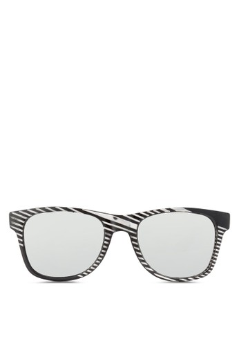 JP00esprit 台北67 條紋印花太陽眼鏡, 飾品配件, 飾品配件