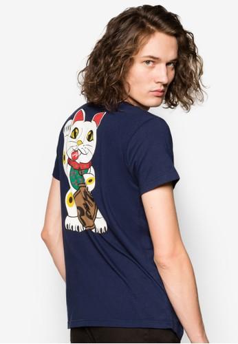 惡搞招財貓設計TEE, esprit 內衣服飾, 印圖T恤