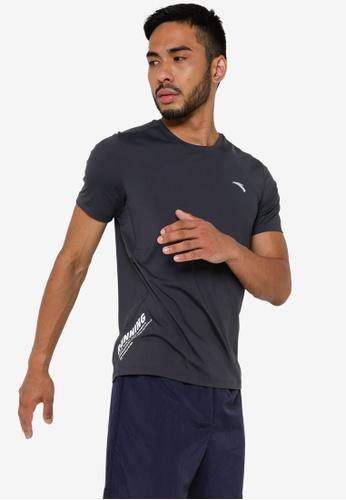 Anta 灰色 C100 短袖T恤 B8BF2AAD8E5501GS_1