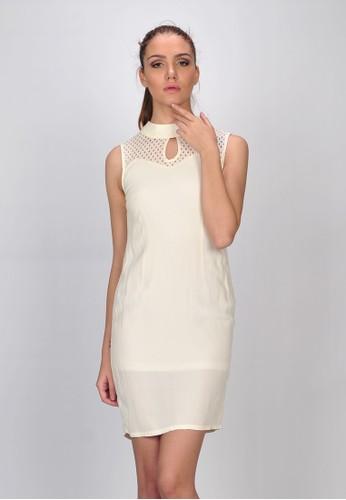 SJO & SIMPAPLY white SJO's Noris Natural Women's Dress SJ108AA11BIQID_1