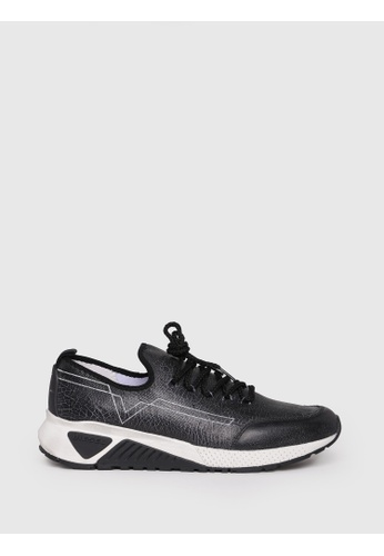 Diesel black S-Kby Slip On Shoes 40AC0SH3EF43F0GS_1