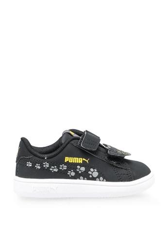 PUMA 黑色 Sportstyle Core Puma Smash Sneakers F5E4DKS557B633GS_1