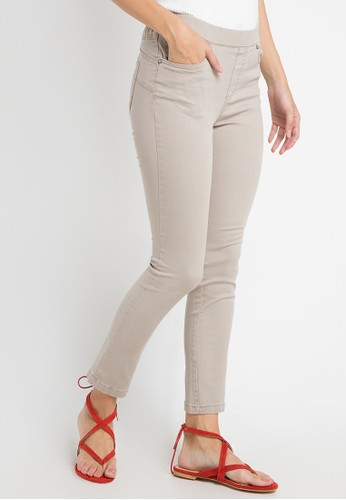 Triset Ladies brown Jegging Knits 70773AA27C47D3GS_1