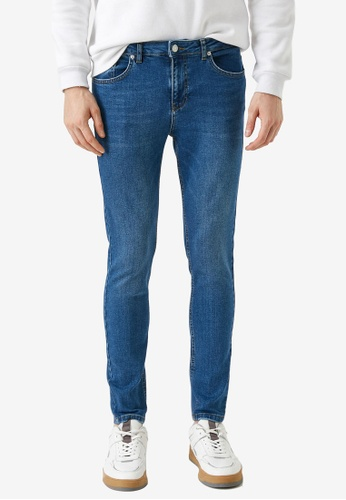 KOTON blue Casual Skinny Jeans AAA03AA9FC929DGS_1