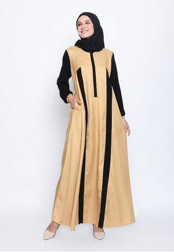 Edissy Fashion beige Maura Dress Boss 18506AAFBBDFD0GS_1