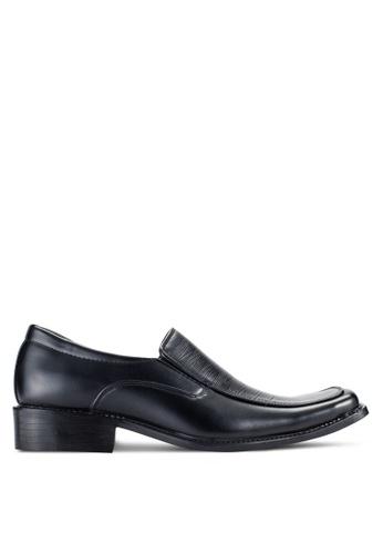 Rocklander black Slip On Dress Shoes RO978SH53JCOMY_1