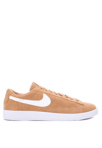 Nike beige Men's Nike Blazer Low Shoes NI126SH0KPQJPH_1