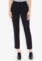 DEBENHAMS black Principles Collection - Col Slim Leg Trouser - Regular Leg ACD24AA9B0393CGS_1