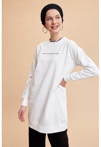DeFacto beige Woman Knitted Sweat Tunic 04C26AA1B51535GS_1
