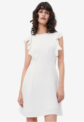 URBAN REVIVO white Casual Dress E9FEEAA917FB18GS_1