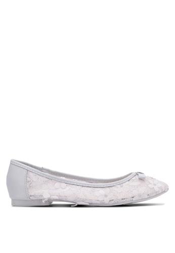 VINCCI grey 3D Floral Ballerinas VI831SH0S51OMY_1