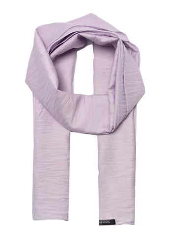 Trendyol purple Lilac Scarf 5E9B4AA363C7EEGS_1