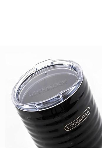 LocknLock black Wave Vacuum Tumbler 750ml D81A4HLFDCE9DBGS_1