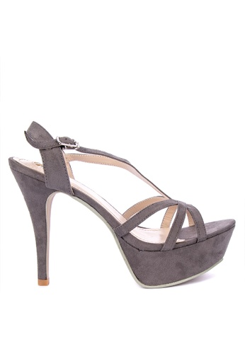 3774f24d6712 Shop Gibi Ankle Strap High Heels Online on ZALORA Philippines