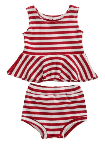 RAISING LITTLE red Bella Outfit Set 42F53KA5F245F6GS_1