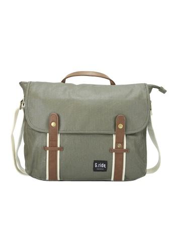 G.ride green Betty Messenger Bag 95815AC6C2BDB3GS_1