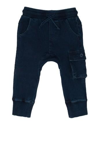 FOX Kids & Baby blue Casual Long Pants 2CB06KA3DA7928GS_1