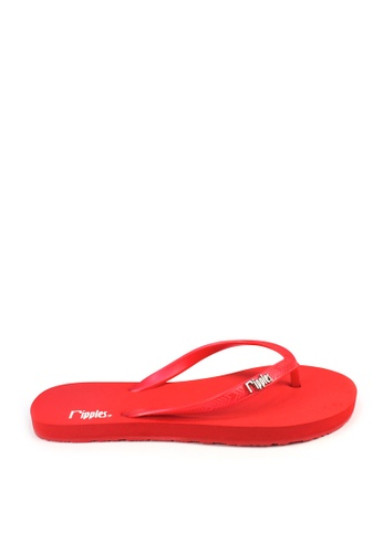 Ripples red Andre Basic Flip Flops RI425SH23THOSG_1