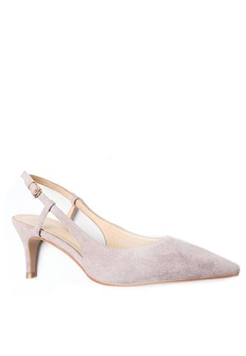 Twenty Eight Shoes purple Slingback Heel 192-30 C3007SHE55E530GS_1