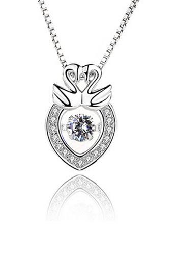 LYCKA silver LPP88058 S925 Silver Necklace 40513ACAF60F8AGS_1