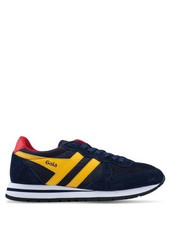Gola navy Daytona Sneakers 977CBSH88937E8GS_1