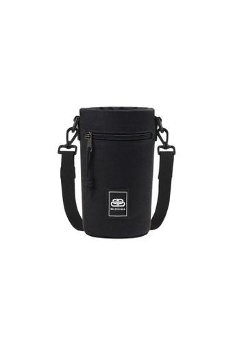 BALENCIAGA black Balenciaga Weekend Bottle Bucket Bag in Black 51495AC13A7E6BGS_1