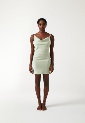 Annibody green PAIGE Mini Dress - Sage 19292AA3432AE0GS_1